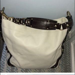 Coach genuine soft leather hobo new condition